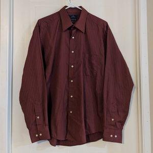 Men's Dockers Long Sleeve Button Dress Shirt